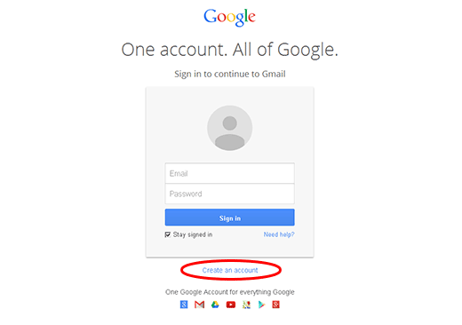 create gmail account 1